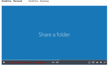 How to Share Files and Folders with OneDrive